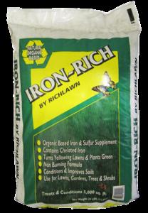 new sod organic fertilizer