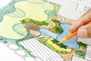 landscape plan writing design compost materials soil lawn